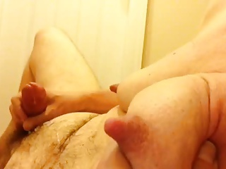 Artemus - Huge Nipples And Tits Jerking Off